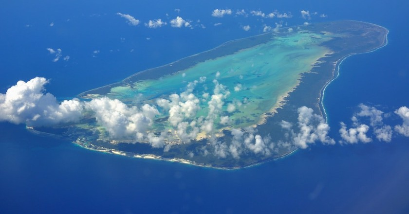Aerial view of Seychelles   © Simisa/Wikimedia Commons