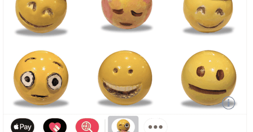 Emoji designed by Laura Owens. Image via the Apple App Store.