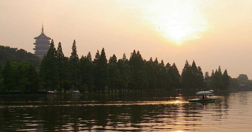 West Lake in Hangzhou   © Jacob Halun / WikiCommons