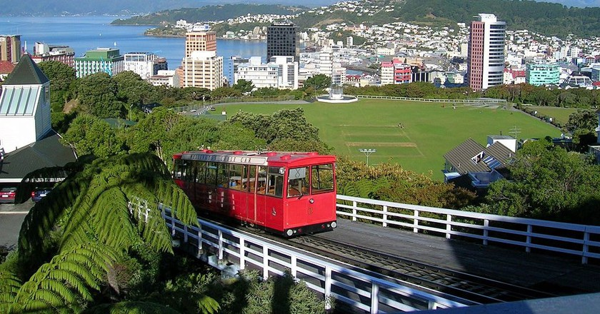 Wellington Cable-car | © Brett Taylor/Wikicommons