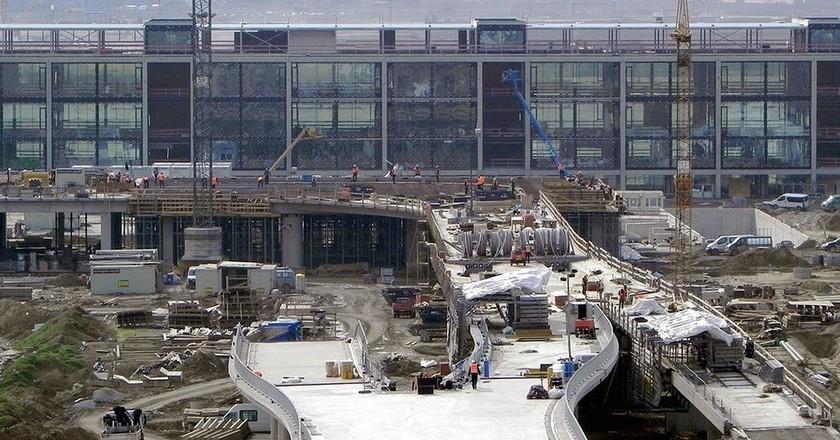 Construction ground Berlin Brandenburg Airport | © Robert Aehnelt/WikiCommons