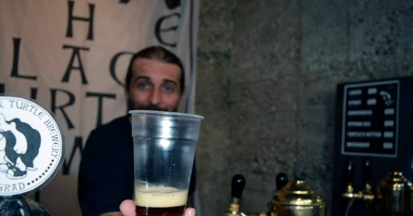 The Black Turtle is a true Belgrade icon | ©The Black Turtle Pubs & Brewery/Facebook