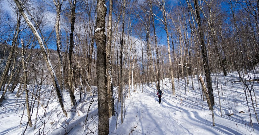 Cross country skiing, Vermont