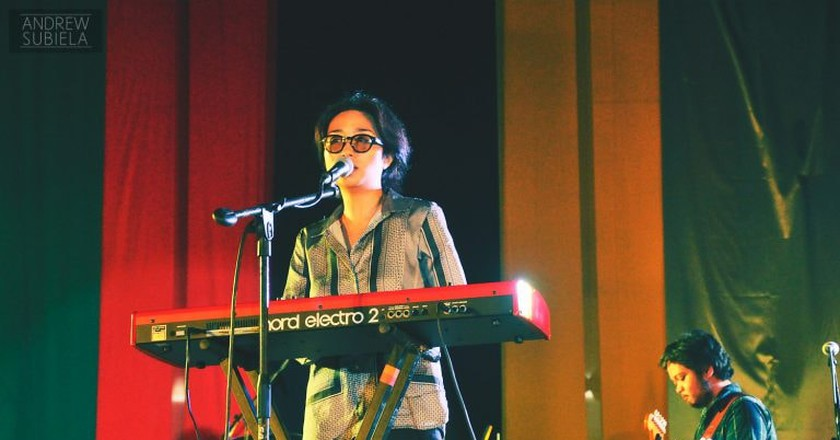 UDD at a gig in Letran Calamba