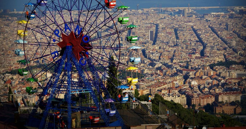 Tibidabo Amusement Park | © Adriano Amalfi / Flickr