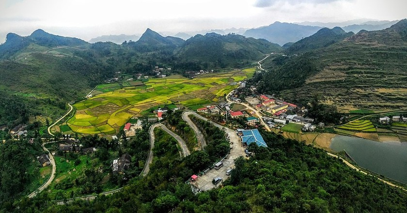 Lũng Cú in Hà Giang Province | © trungydang/WikiCommons
