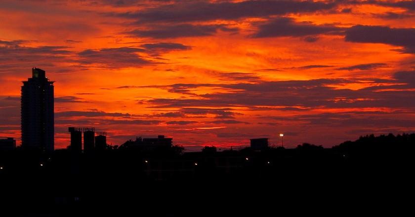 Beautiful Pattaya sunset | © Richard Barton/Flickr
