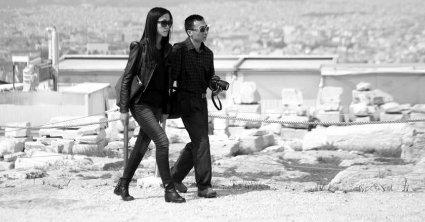 Couples visiting the Acropolis, Athens   © Sascha Kohlmann/Flickr