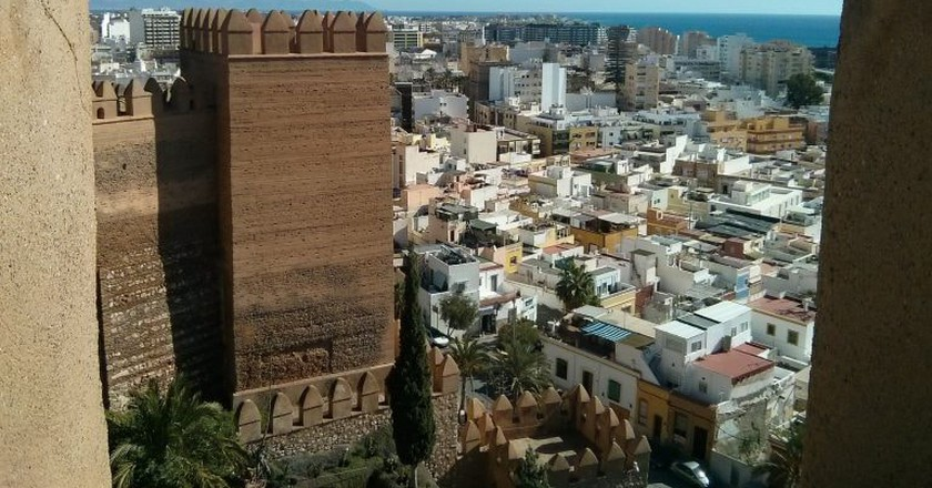 View of Almería from the Alcazaba   © Martin Stone/Flickr