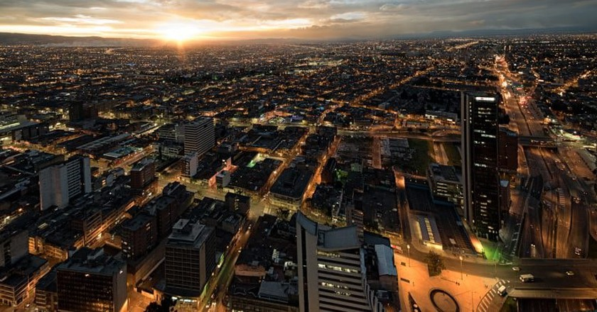 Sunset in Bogota, Colombia | © Fernando Garcia / Flickr