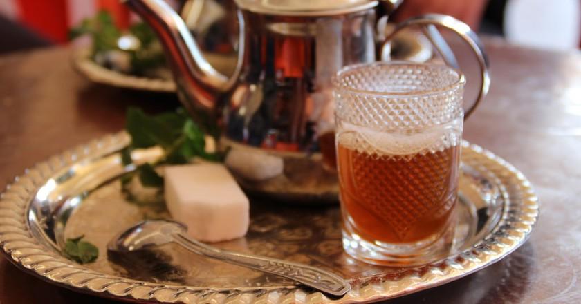 Moroccan mint tea   ©Thibaut Démare/Flickr