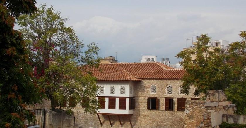 Benizelos family mansion, Adrianou street   © Dimitris Kamaras
