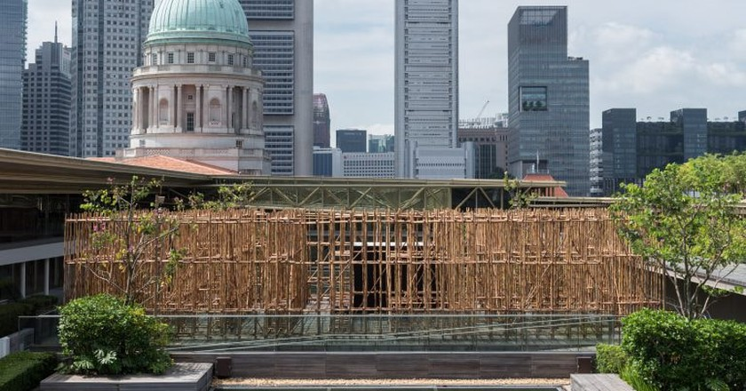 Installation view of 'untitled 2018' | Courtesyof National Gallery Singapore