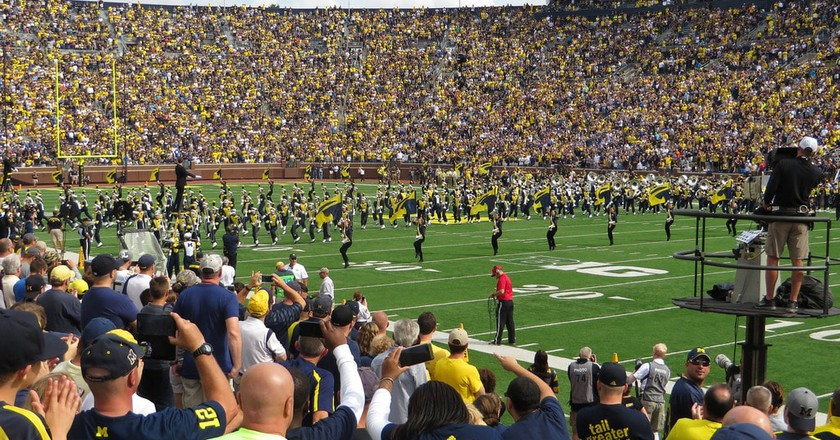 Michigan Marching Band | © Ken Lund/Flickr