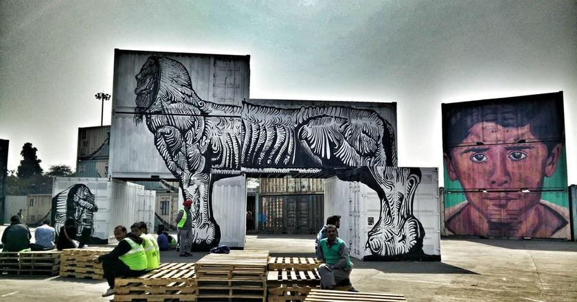 A street art festival in New Delhi   © meenakshi madhavan/Flickr