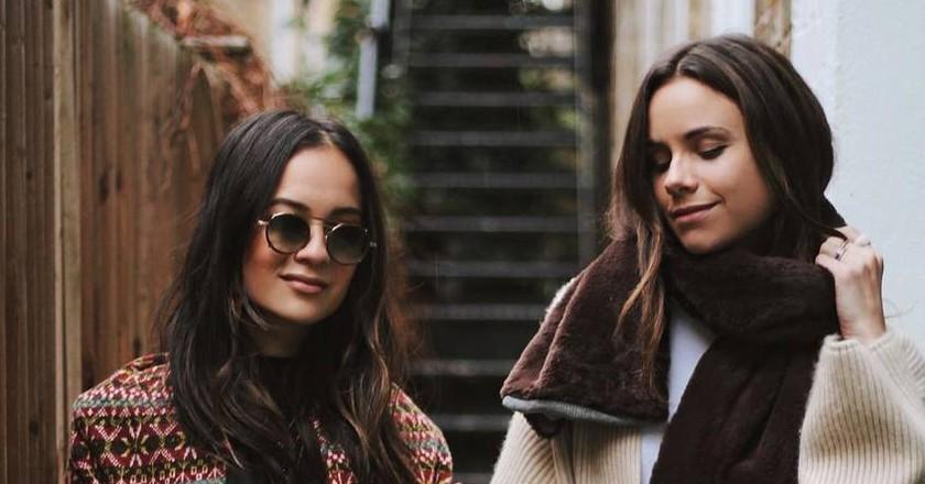 Anna Vitiello and Florrie Thomas, &Finally | Image via Instagram @andfinally