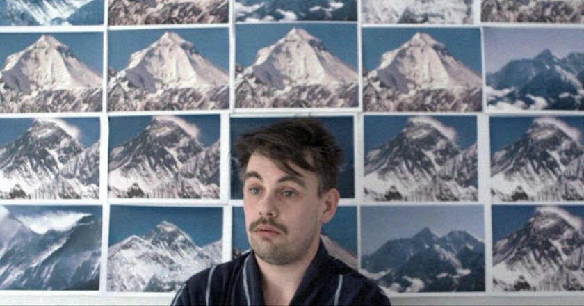 Still from Todd Terje'a Inspector Norse video, featuring Marius Solem Johanson