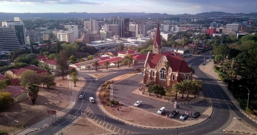 Windhoek city | © Henning Supertramp / Flickr