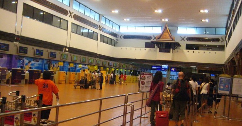 Check-in counters at Don Mueang International Airport   © neajjean/Flickr