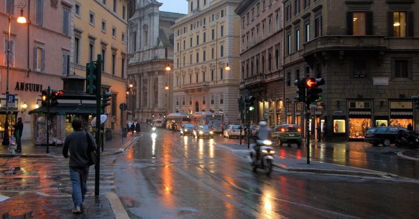 Rome in the rain | © L. Allen Brewer/Flickr
