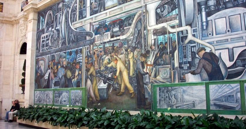 Diego Rivera's 'Detroit Industry'   © Onasill ~ Bill Badzo / Flickr