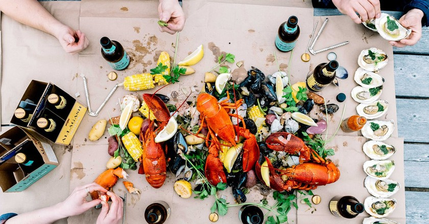 The Story of Maine Lobster, From Prison Food to Delicacy
