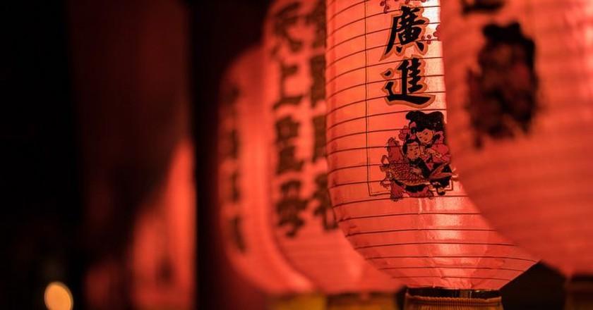 Red Lanterns | © Joe Le Merou / Flickr