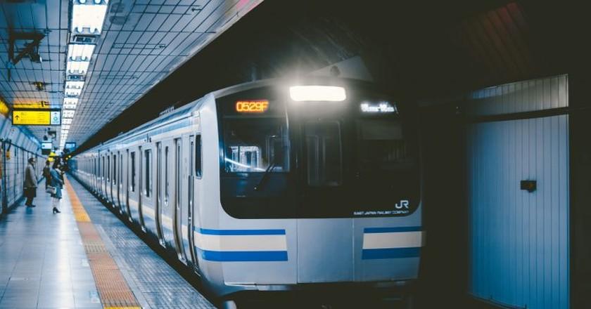 Tokyo train   © hans-johnson / Flickr