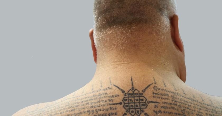 Several Sak Yant tattoos | © binder.donedat/Flickr