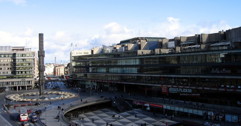 Sergels Torg has many unique features   © Glenn Strong / Flickr.