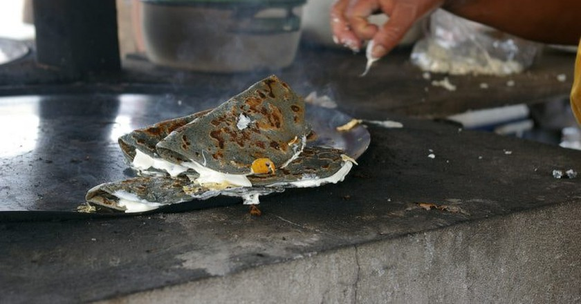 Quesadilla stand│© Thomassin Mickaël/Flickr
