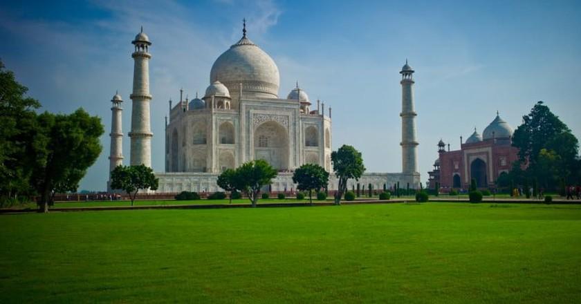 The Taj Mahal, Agra, India | © null0 / Flickr
