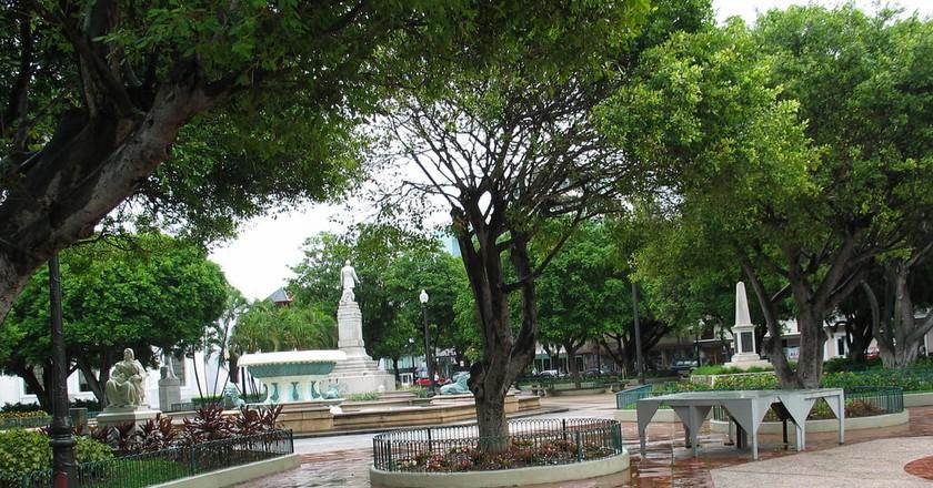 Plaza Degetau at Plaza Las Delicias, Ponce   © Roca Ruiz/flickr