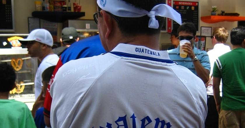 A Guatemalan football fan | © Ruth L / Flickr
