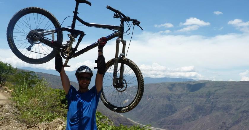 Mountain biking in Colombia