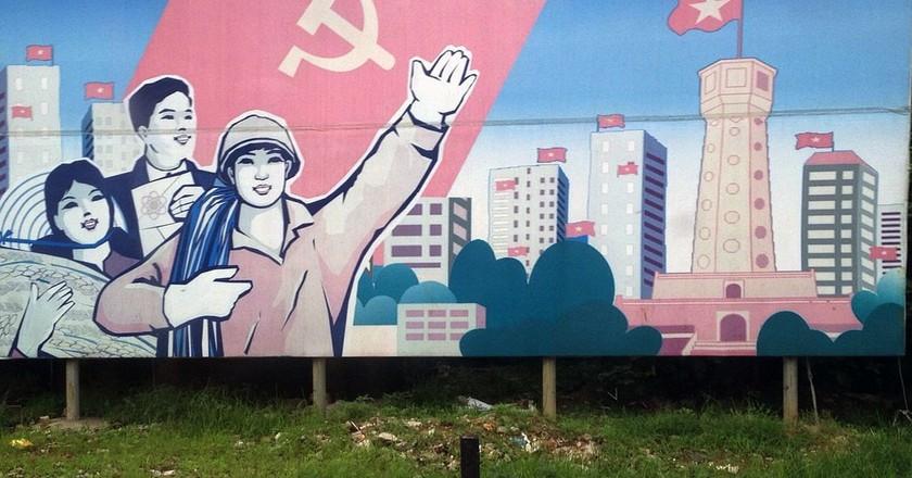 Socialist Propaganda | © Michael Voelker/Flickr