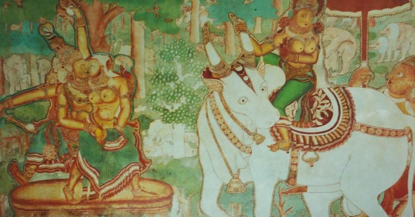 Mural art in Mattancherry Palace Museum   © Mark Hills / WikiCommons