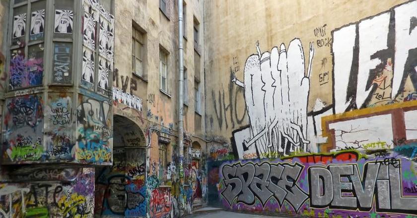 Grafitti in St Petersburg, Russia | © fotorus / Flickr