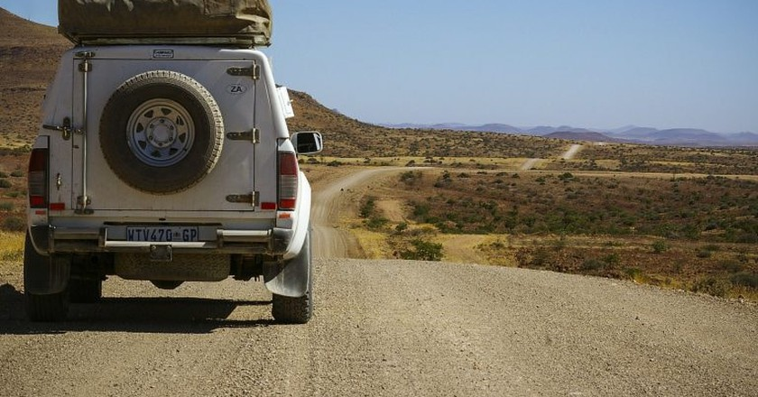 On the road in Namibia   © leoto / Pixabay