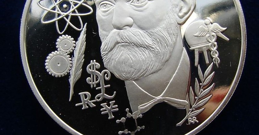 Silver medal honoring the presentation of the Nobel Prizes   © Berlin-George / WikiCommons
