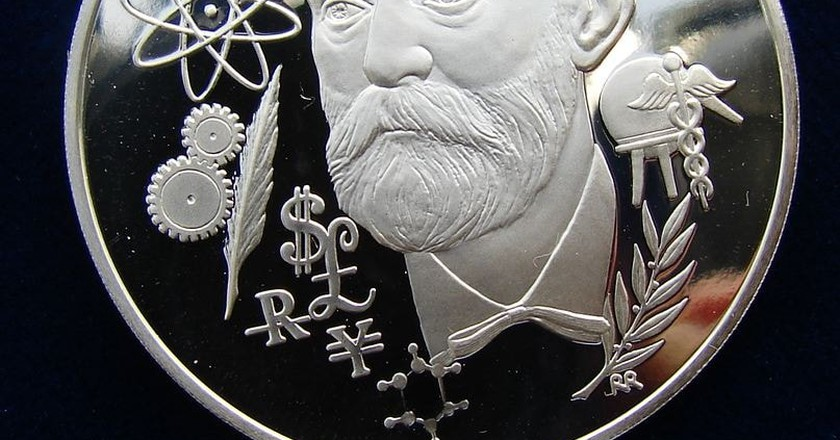 Silver medal honoring the presentation of the Nobel Prizes | © Berlin-George / WikiCommons