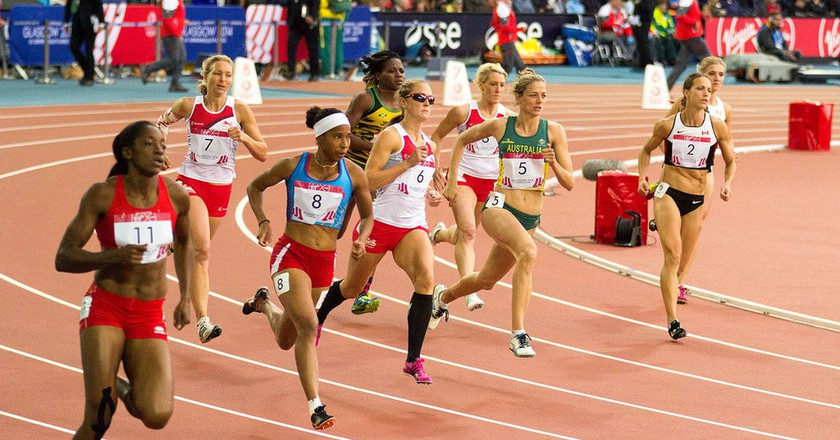 Athletics race at the 2014 Commonwealth Games | © Graham Campbell/Wikimedia Commons