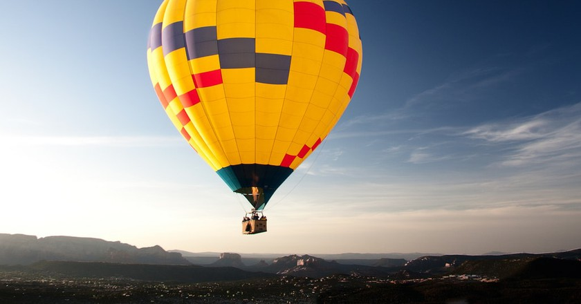Balloon ride | © Thales / Flickr