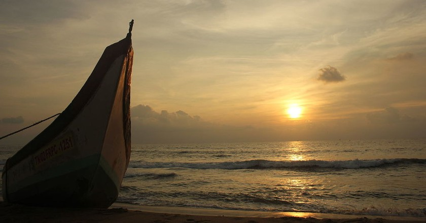 Chennai's beaches are some of the best vantage points for viewing the sunset | © SridharanC/WikiCommons