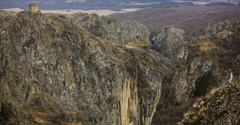 Birtvisi Rocks and Fortress | © Paata vardanashvili / WIkiCommons