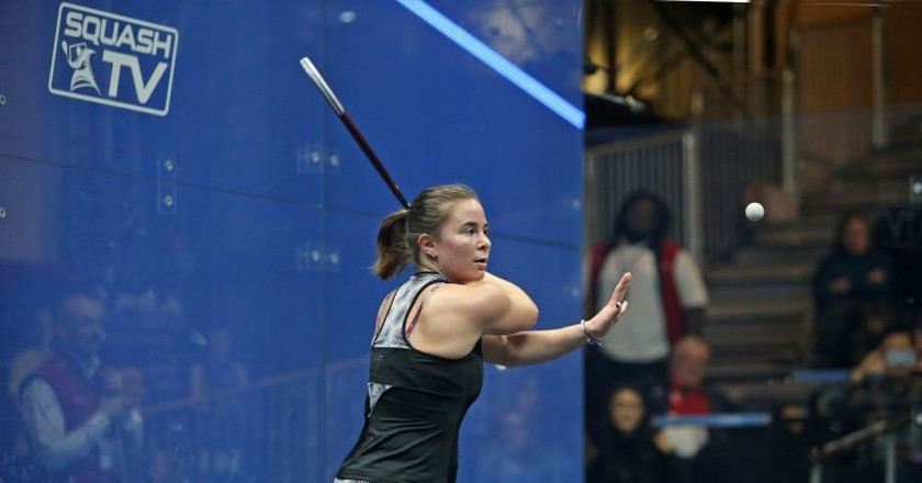 Olivia Blatchford   © Professional Squash Association