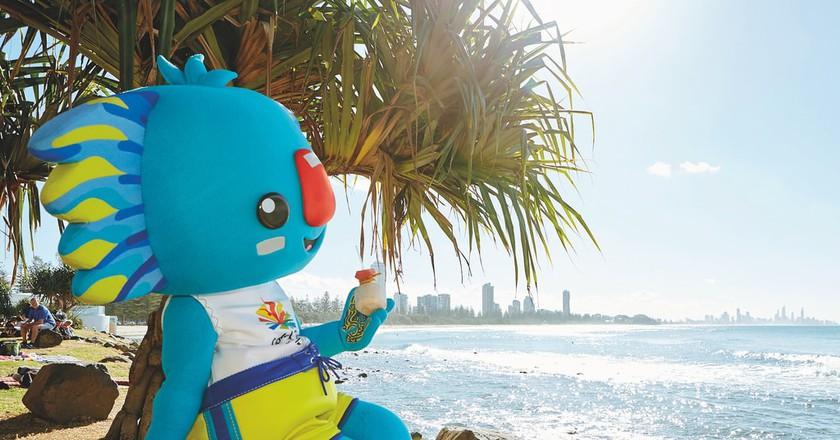Borobi the mascot of the Gold Coast 2018 Commonwealth Games | © TEQ