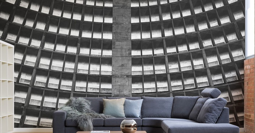 Brutalist Wallpaper for Your Concrete Jungle Apartment