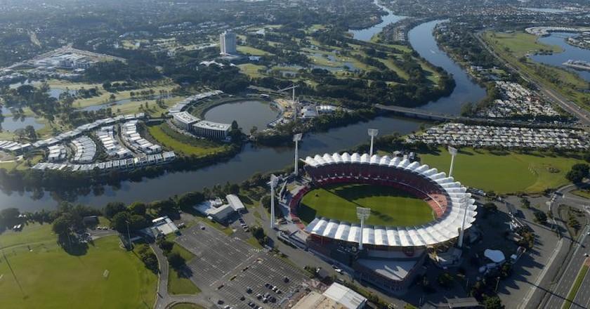 Carrara Stadium and the Gold Coast | © TEQ