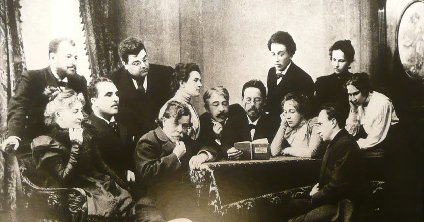 Chekhov and the Moscow Art Theatre | © WikiCommons